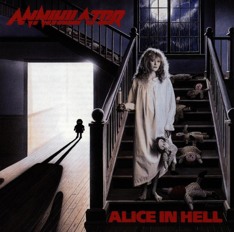 Annihilator - Alice In Hell CD