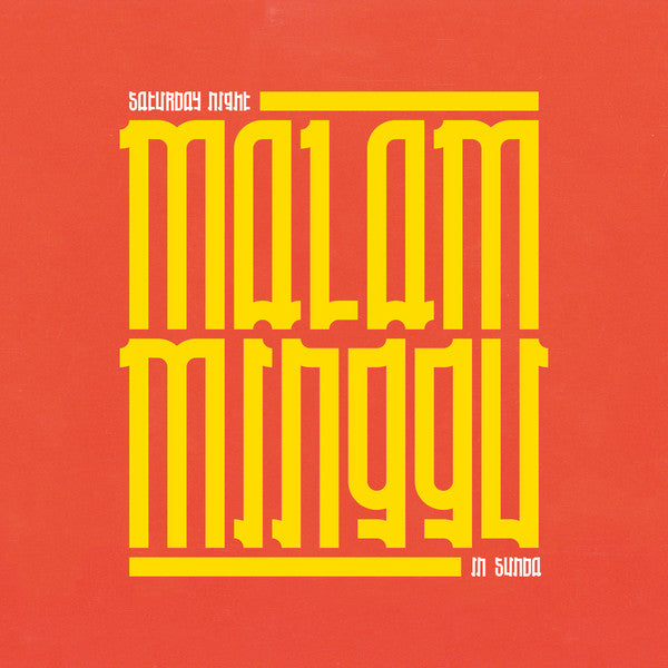 Various ‎– Malam Minggu : A Saturday Night In Sunda LP