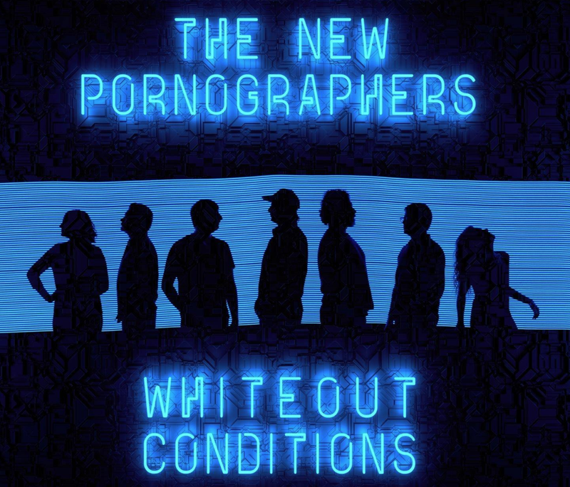 New Pornographers ‎- Whiteout Conditions LP