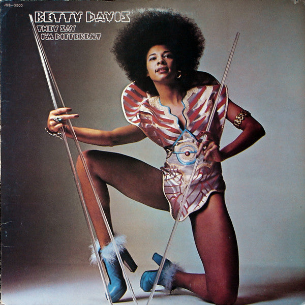 Betty Davis - They Say I'm Different LP