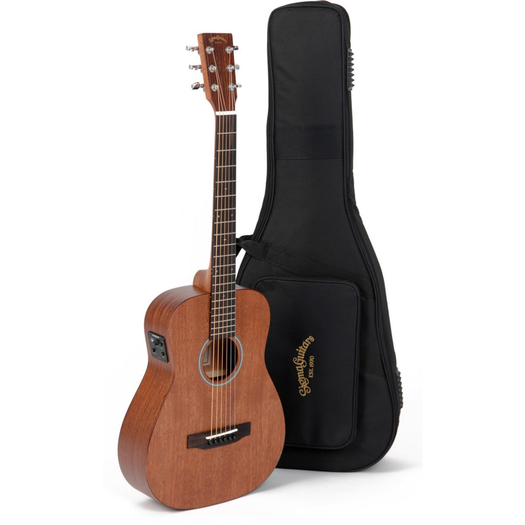 Sigma TM-15E+ Travel Electro Acoustic w/ Bag (Mahogany)