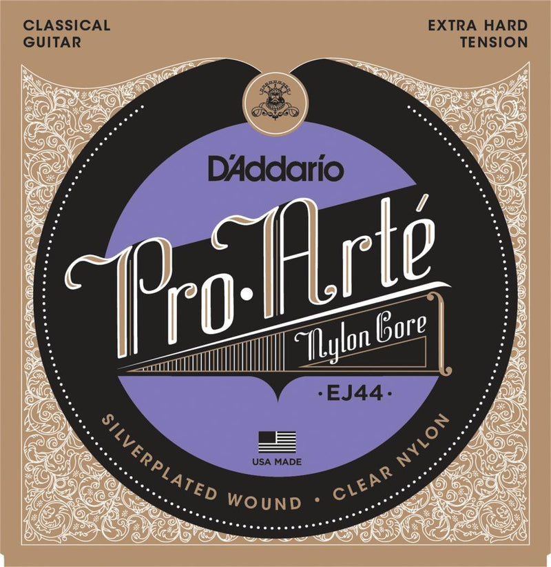D'Addario EJ44 Pro Arte Extra Hard Classical Guitar Strings (.0290-.045)