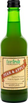 Fior Fruit Merchants Pure Pear and Apple Juice 12 x 330ml