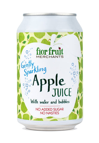 Fior Fruit Merchants Gently Sparkling Apple Juice 24 x 330ml