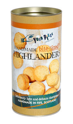Your Piece Baking Company Bite-Sized Highlanders Gift Tube 180g