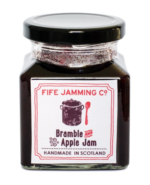 Small Batch Bramble and Apple Jam 275g