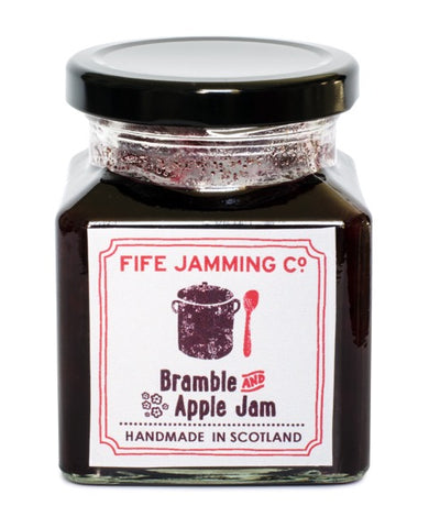 Fife Jamming Co Small Batch Bramble and Apple Jam 275g