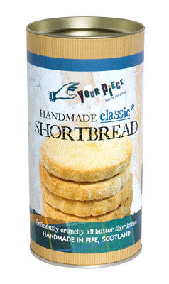 Your Piece Baking Company Classic Shortbread Gift Tube 250g