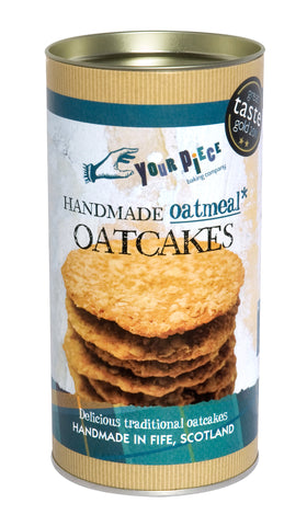 Your Piece Baking Company Oatmeal Oatcakes Gift Tube 180g
