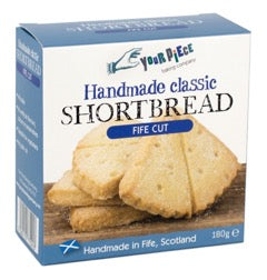 Your Piece Baking Company Classic Shortbread Fife Cut 180g