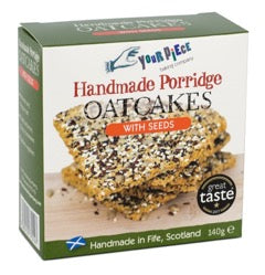 Your Piece Baking Company Porridge oatcakes with seeds