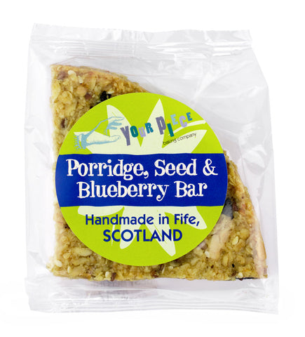 Porridge, Seed & Blueberry Bar 75g