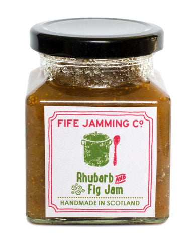 Fife Jamming Co Small Batch Rhubarb and Fig Jam 270g