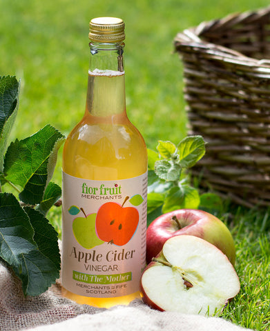 Raw Apple Cider Vinegar with the Mother 9 x 500ml