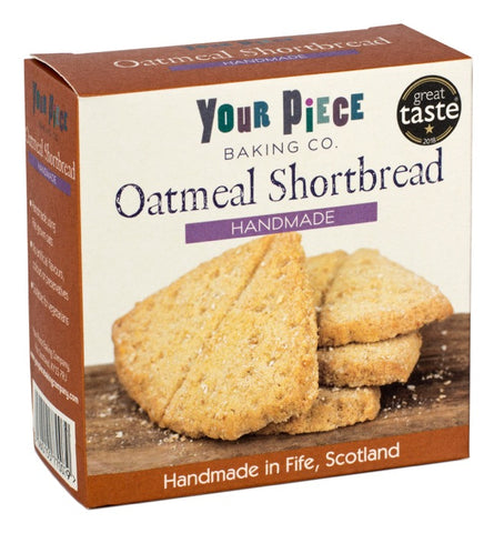Your Piece Baking Company Oatmeal Shortbread Fife Cut 180g