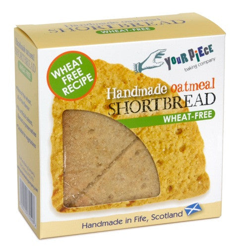 Wheat Free* Oatmeal Shortbread 180g