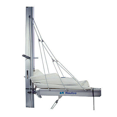 002FS - LAZY JACK System -  TYPE B - MEDIUM SIZE - 32 TO 38 FEET SAILBOATS - WITH SELF GRIPPING FURLING STRAPS