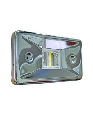 2868 - STERN LIGHT  - LED - STAINLESS STEEL - USCG 2 NM
