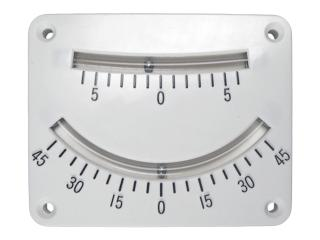 13.3037 - Clinometer Twin Scale - Clinometers - Soft plastic tube w/stainless steel balls