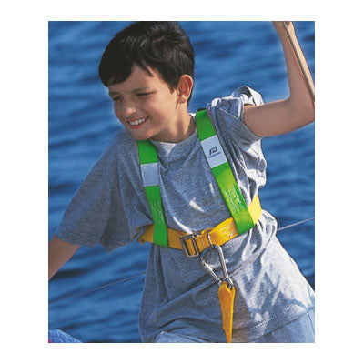 31549 - HARNESS WITH SINGLE TETHER WITH 2 SNAP HOOKS - PLASTIMO