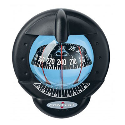 39665 - CONTEST 101 COMPASS-VERTICAL MOUNT-BLACK BEZEL BLACK CARD- PLASTIMO