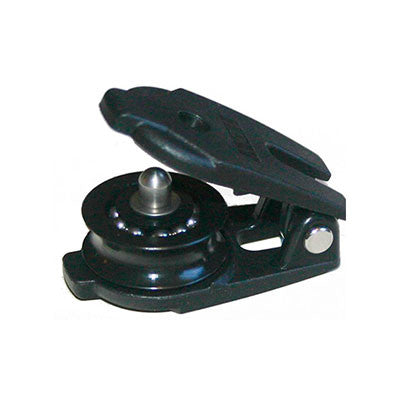4475 - Snatch Block 30 mm Sheave diameter with SS Ball Bearing - Open Pulley - Nautos Usa