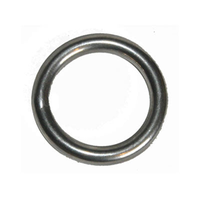"640 - STAINLESS STEEL 6 MM ( 1/4"") RING - 40mm"