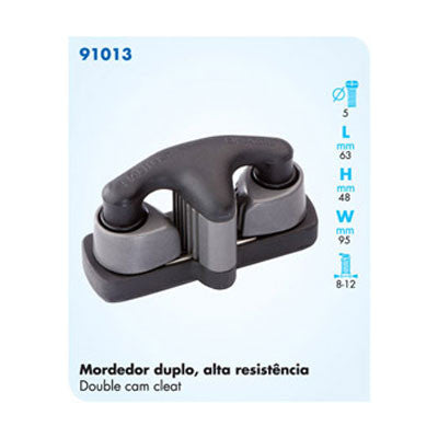 91013 DOUBLE CAM CLEAT