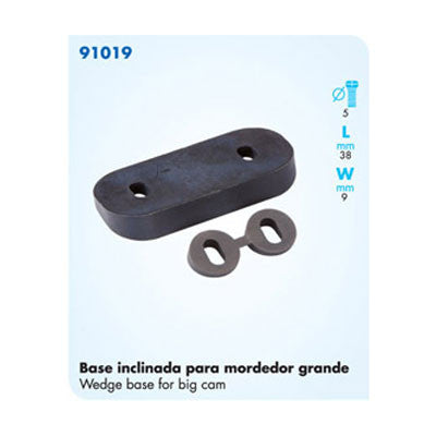 91019 Wedge Base For Big Cam Cleat - Set Of 4 Pieces