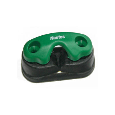 91025 TG- Composite , 2 row ball bearing cam cleat with green fairlead
