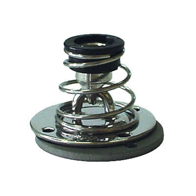 91044 Stainless steel STAND UP base with alloy underdeck plate . 6.5 mm  ( 1/4