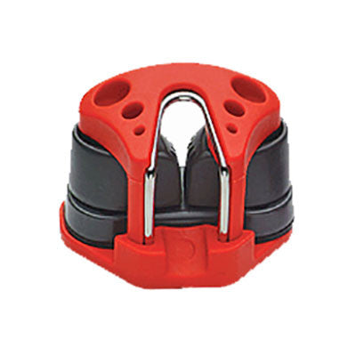91183.26- FAIRLEAD AND SMALL CAM CLEAT - RED  FAIRLEAD