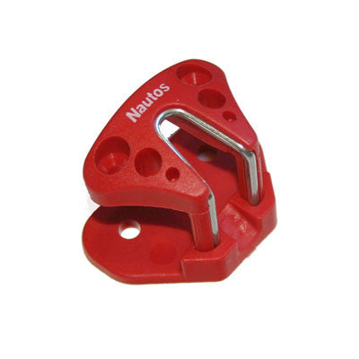 SMALL COMPOSITE CAM CLEAT NAUTOS 91026 TR RED TOP