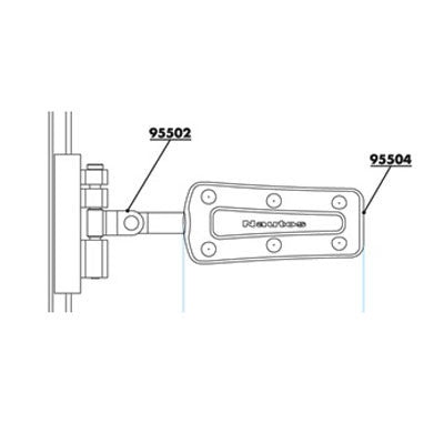 91504 MEDIUM BATTEN SUPPORT