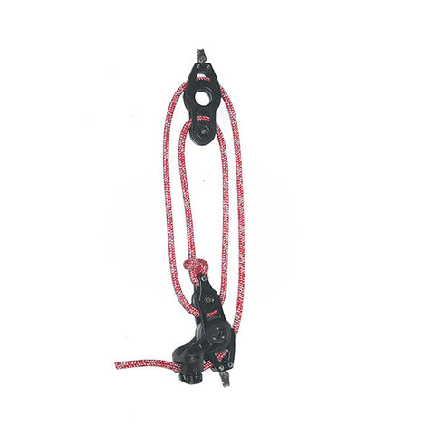 92073-00 R|4:1 Mainsheet System set of blocks- 57mm  sheave with pre-stretched mainsheet rope.