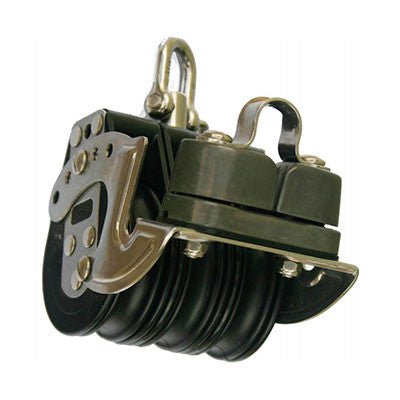 92233 - TRIPLE SWIVEL WITH ALUMINUM CAM  AND ALUMINUM SHEAVE