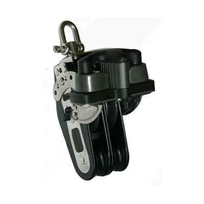 92746 - FIDDLE DOUBLE SWIVEL - DOUBLE RATCHET AND DOUBLE ALUMINUM CAM CLEAT