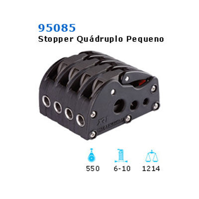 95085 XR1 QUADRUPLE ROPE CLUTCH