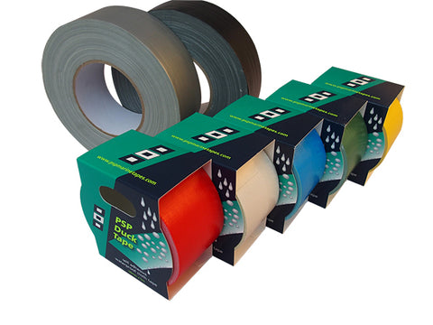 Duck Tape - self-adhesive, high quality waterproof cloth tape - PSP Tapes