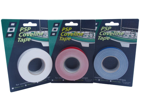 Coveline Tapes - 15mm x 15 mts - 3 colors.