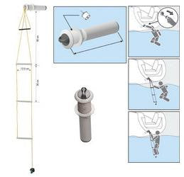 Flushmount Safety Ladder - PLASTIMO- 51558