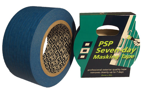 7 Day Blue Paper Masking Tape - PSP Tapes