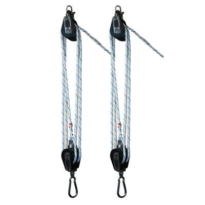 "BL002 - Medium boat lift tackle with 3/8"" pre-strech"