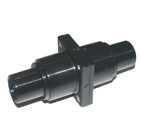 "Check valve- In line non return - HPN 379 - Black - 25mm  to  38mm ~ 1"" to 1 1/2"""
