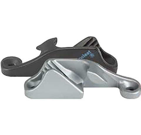 CL217 MK1 SILVER - CLAMCLEAT  ALUMINUM . Starboard Entry
