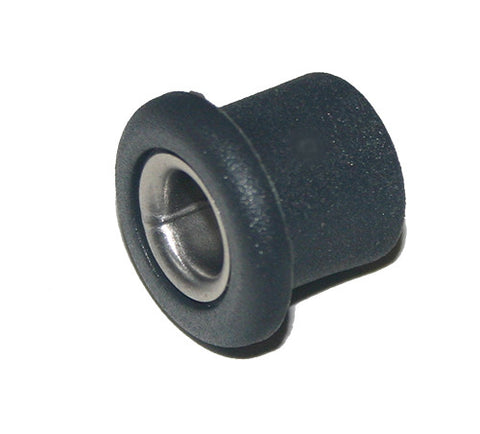 "HPN 183 - DECK PUSH IN BUSH - NYLON WITH S/S INSERT - 7.5mm~ 9/32""  ID- 14mm~9/16"" DEEP"