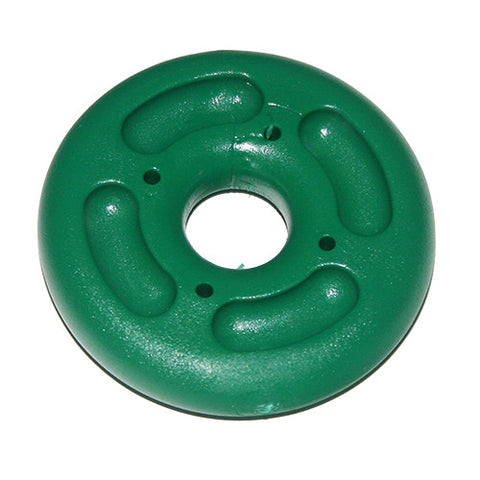 "HPN 198   - Spinnaker Shackle Guard / Trapeze Line Handle - 60mm ~  2  3/8"" OD.  Green or Red"