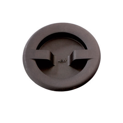 HT 337 - HATCH COVER BLACK -SMALL - OPENING SIZE 4""