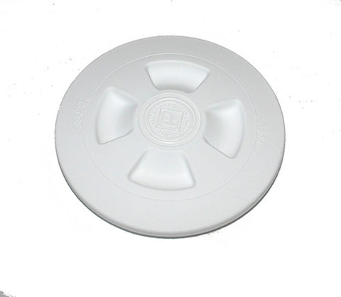 "INSPECTION PORT- PLASTIC DECK PLATE -HPN035- 4"" DIAMETER."