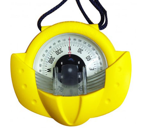 63871 - IRIS 50 - HAND BEARING COMPASS - YELLOW - PLASTIMO